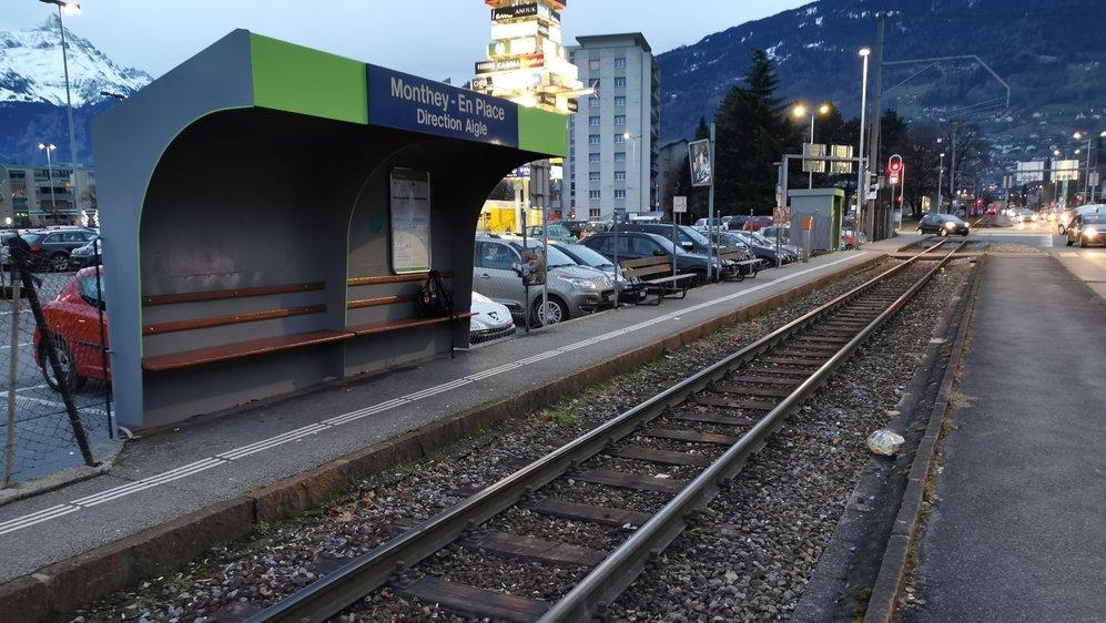 L'un des arrêts de Monthey-En Place sera supprimé dès l'année prochaine.