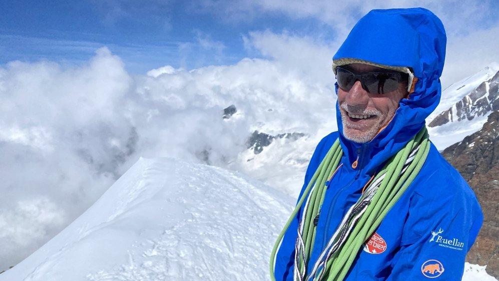 Christophe Gay-Crosier (56 ans) faisait partie des guides de Verbier. Il venait de recevoir sa médaille des trente ans d'activité.