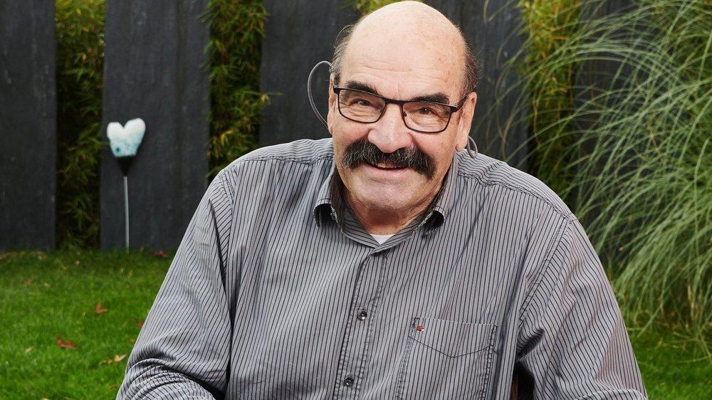 Jean-Pierre Egger, ancien athlète et ancien entraîneur.