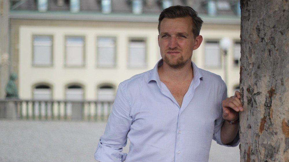 Julian Droux, coprésident Cybercoachs.