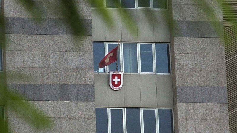 La demande d'assistance juridique a été adressée via «l'ambassade suisse à Beyrouth».