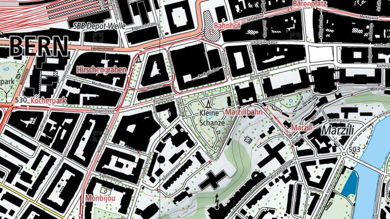 Parcourez la nouvelle carte de la Suisse, finalisée après 7 ans de travaux