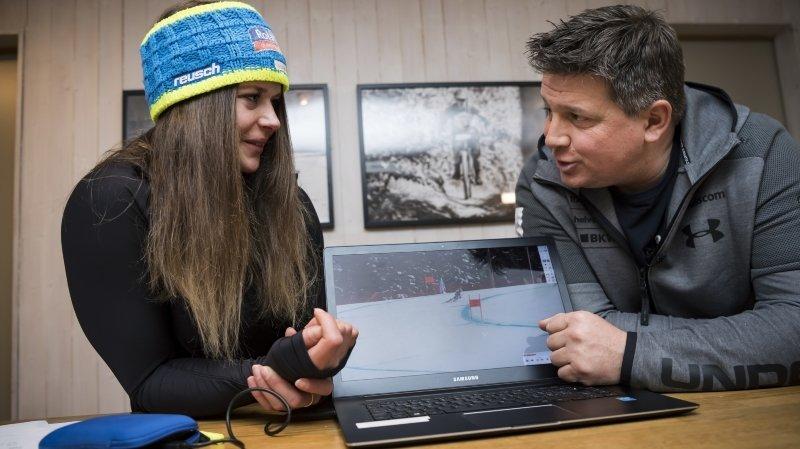 Mondiaux de Cortina: «Corinne Suter a changé de dimension», assure Dominique Pittet, chef du groupe de vitesse suisse
