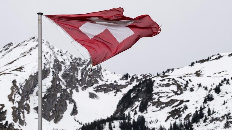 Des vents à 167 km/h ont été enregistrés dans les Alpes valaisannes (illustration).