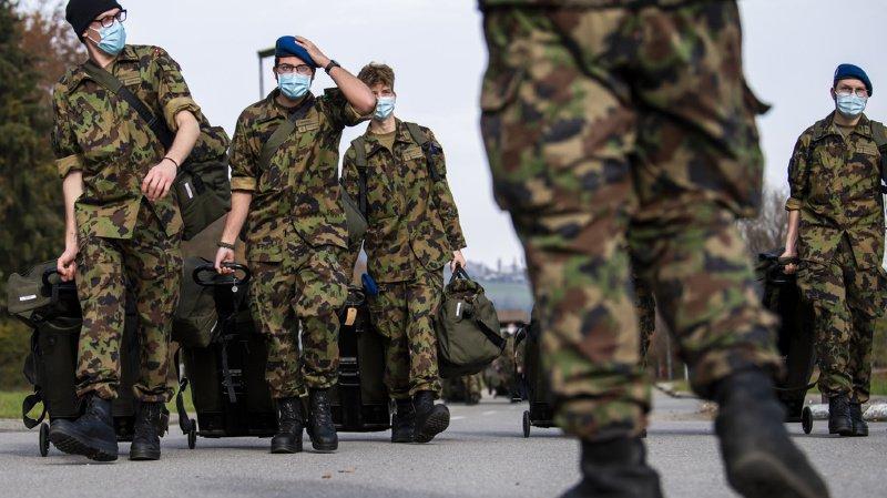 Armée: les militaires ont accompli près de 5 millions de jours de service en 2020