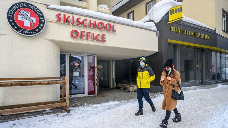 Coronavirus: à St-Moritz, le personnel de tous les hôtels et les moniteurs de ski vont être testés