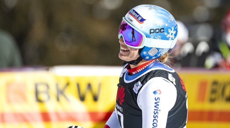 Ski alpin: Flury et Nufer sauvent l'honneur à la 1ère descente de Crans-Montana, remportée par Goggia