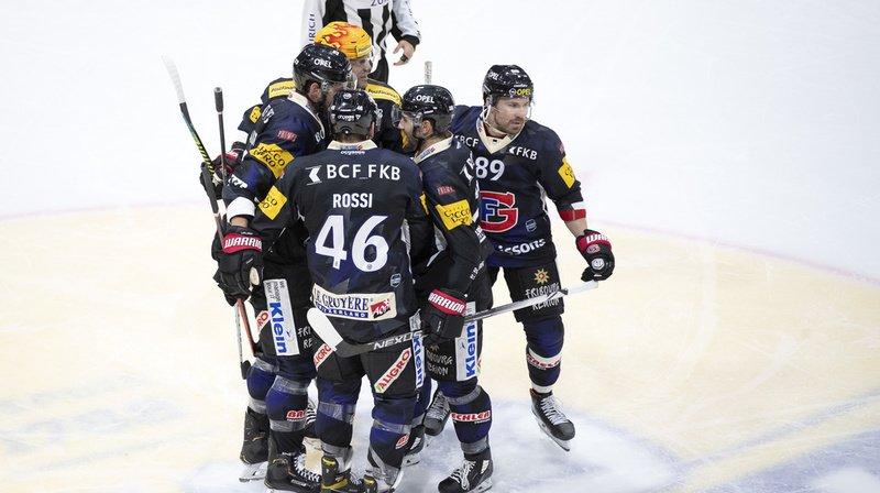 Hockey: Fribourg bat Genève pour la 1ère fois de la saison, Lausanne s'impose pour son retour