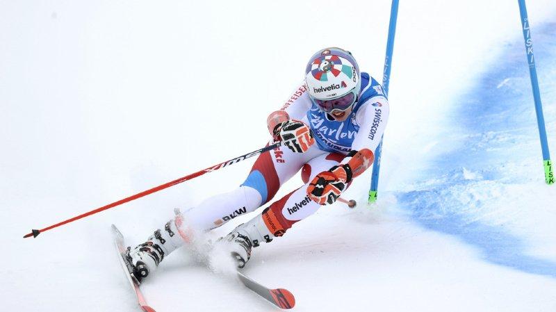 Ski alpin: Michelle Gisin en tête du géant de Kronplatz après la 1ère manche