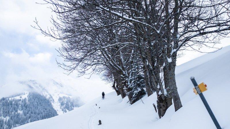 Intempéries: le danger d'avalanche reste élevé en Suisse