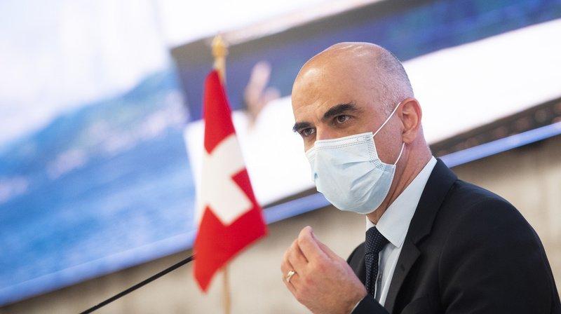 Coronavirus: «pas d'assouplissement majeur à attendre le 1er mars», annonce Alain Berset