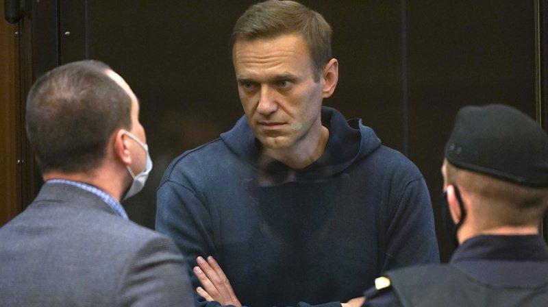 Deux ans et demi de prison pour l'opposant Navalny