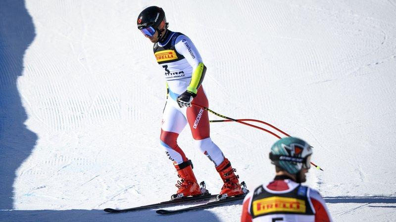Ski alpin – Mondiaux de Cortina: Mauro Caviezel rentre à la maison