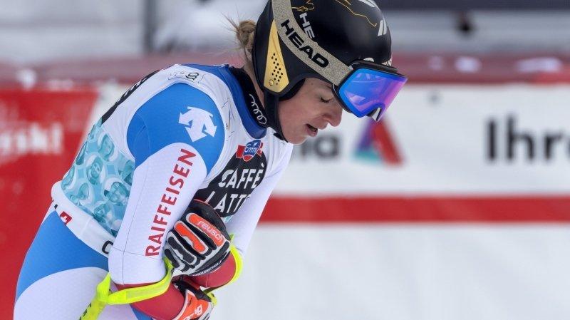 Coupe du monde de Crans-Montana: «Je veux comprendre pourquoi j'ai mal», confie Lara Gut-Behrami, 2e samedi.