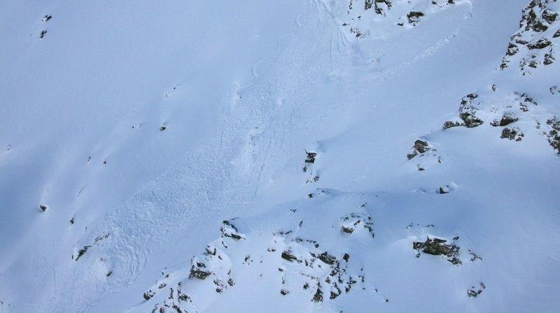 Avalanche à Nendaz: deux personnes emportées
