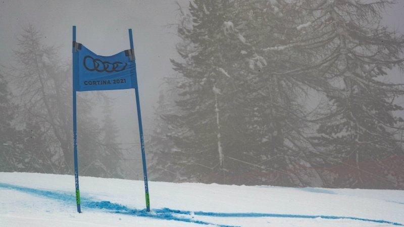Jour de brouillard du côté de Cortina...