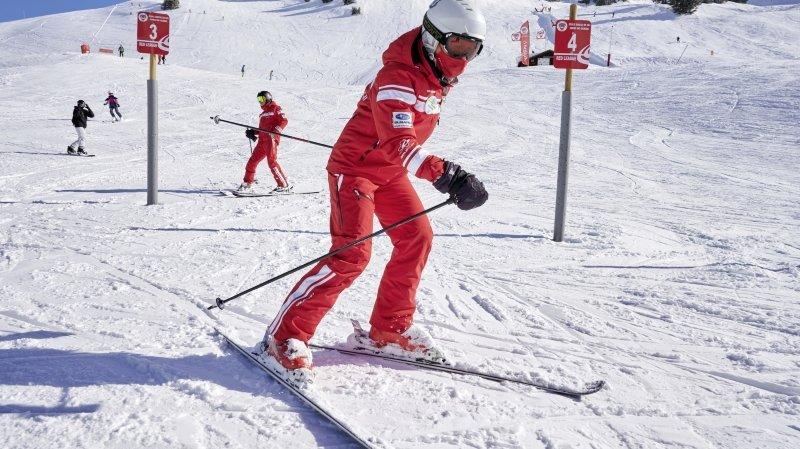 Ecoles de ski: l'absence de la clientèle étrangère pèse sur les grandes stations