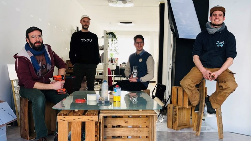 Sierre: l'association Satellite ouvre un espace de coworking pour artistes