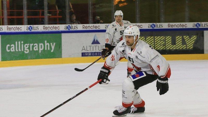 Hockey: Dominic Forget se rappelle au bon souvenir de Viège