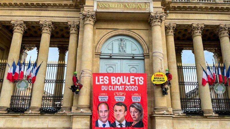 Pompili élue «Boulet du climat» de Greenpeace, prix spécial à Macron