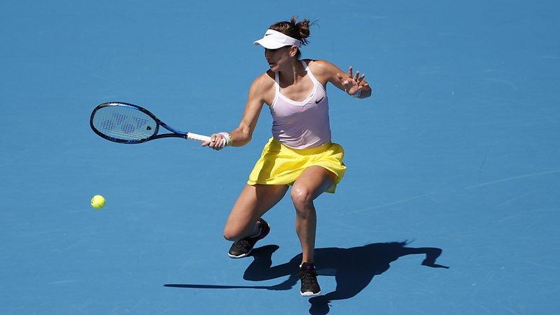 Tennis: Belinda Bencic s'incline lors de son premier match de l'année à Melbourne