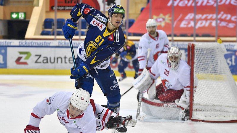 Hockey: Lausanne tombe à Davos, qui réalise sa 5e victoire consécutive