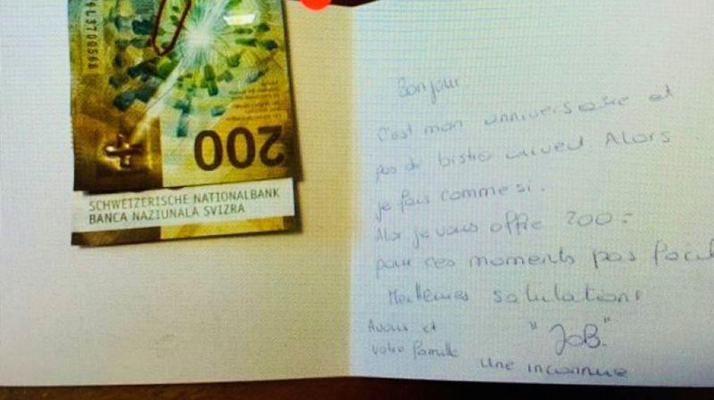 Ardon: pour son anniversaire, elle offre un cadeau à son restaurateur