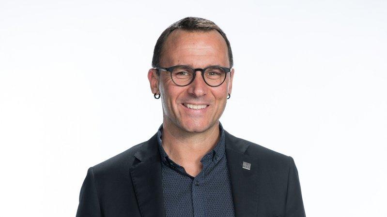 Christian Carron, nouveau président du Conseil général de Fully.