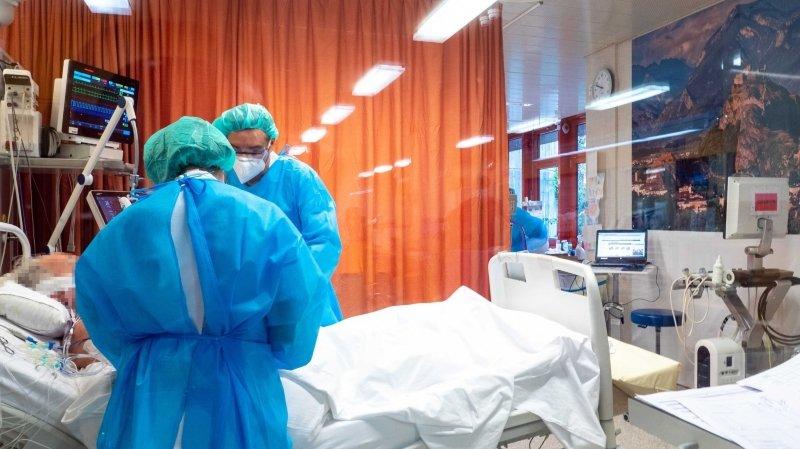 Valais: trois hospitalisations de plus dues au coronavirus