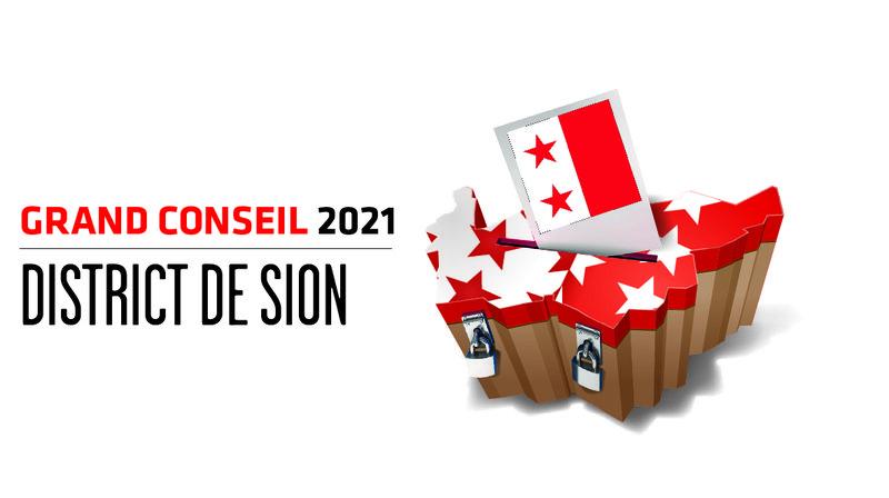 Cantonales 2021: les candidates et candidats au Grand Conseil du district de Sion
