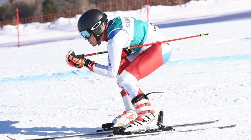Ski handicap: le Valaisan Théo Gmür a trouvé un concurrent en Suisse
