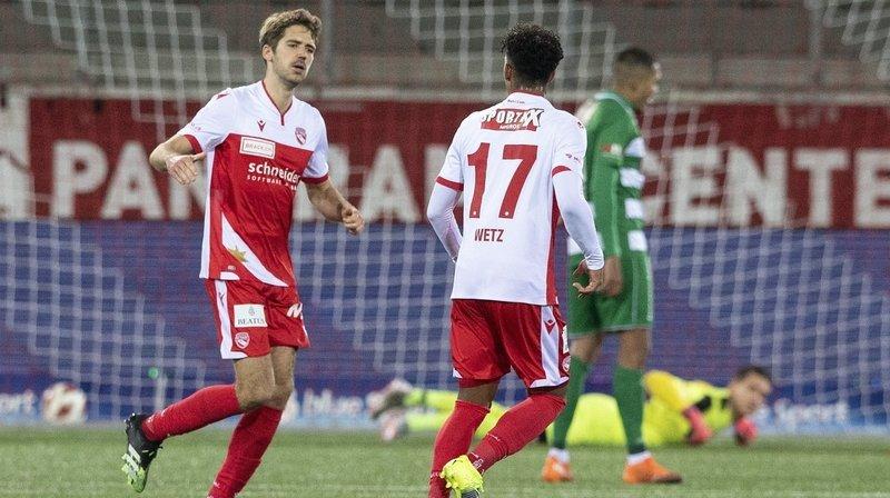Football: Grégory Karlen et le FC Thoune font la course en tête