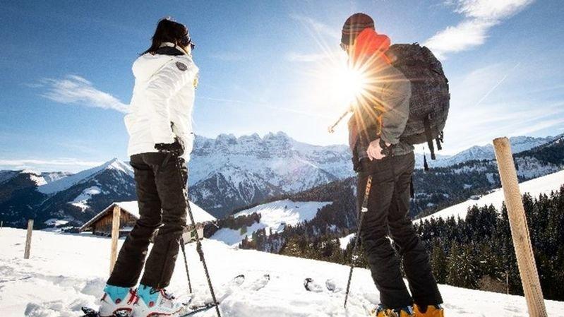 Selon la RDDM, l'affluence record sur le rando-parc de Morgins confirme la popularité toujours grandissante du ski de randonnée.