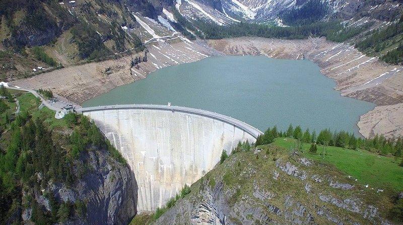Election au Conseil d'Etat (2/8): une grande majorité pour le rehaussement des barrages