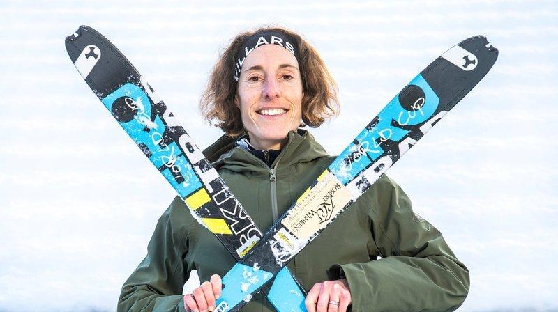 Ski alpinisme: Maude Mathys deuxième de la course verticale de Coupe du monde de Verbier