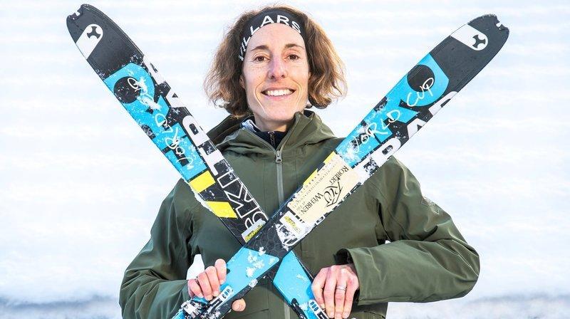 Ski-alpinisme: Maude Mathys, à peine de retour et déjà tout devant