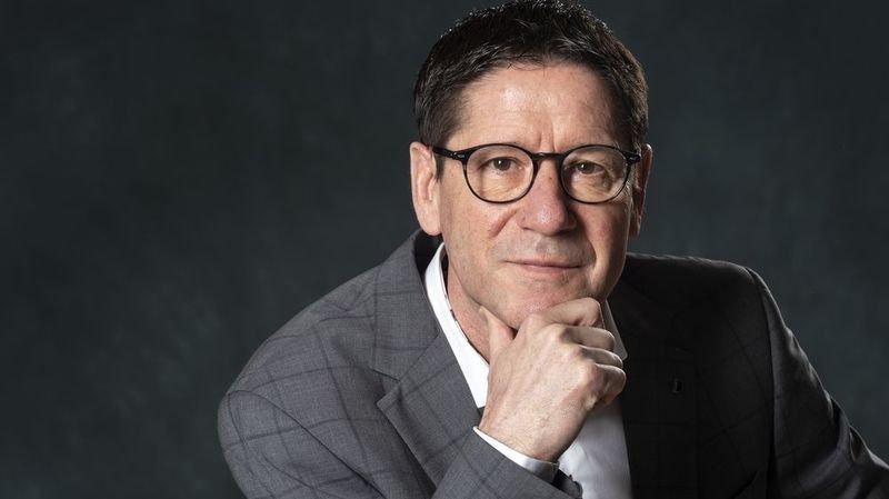 Eric Meizoz, actuel directeur général du groupe Rhône-Média.
