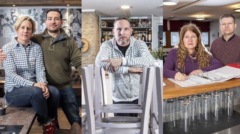 Coronavirus et fermeture prolongée: trois restaurateurs valaisans en colère