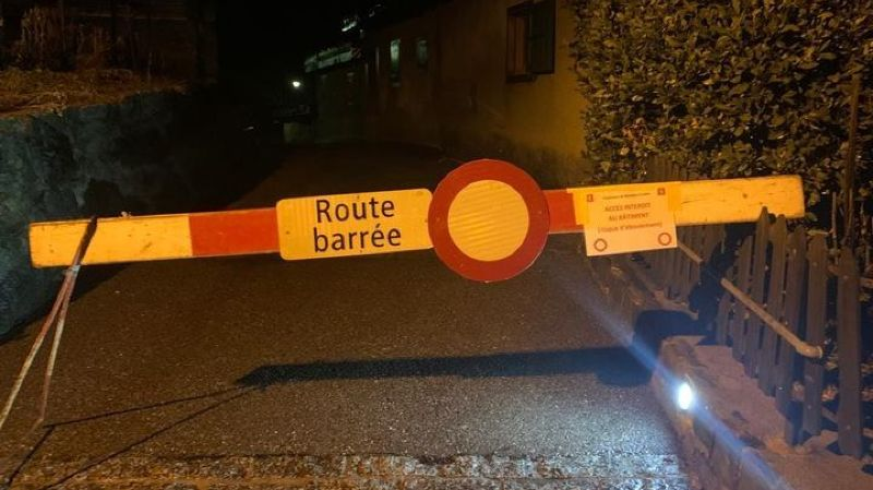 Il n'y a plus de restriction de trafic pour rejoindre Plan-Cerisier.