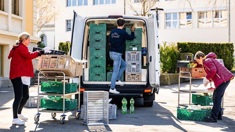 Gaspillage alimentaire: Table Suisse a pu servir plus de 9 millions de repas en 2020