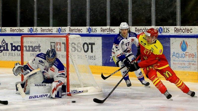 Hockey: trois défaites de rang, une première pour le HC Sierre