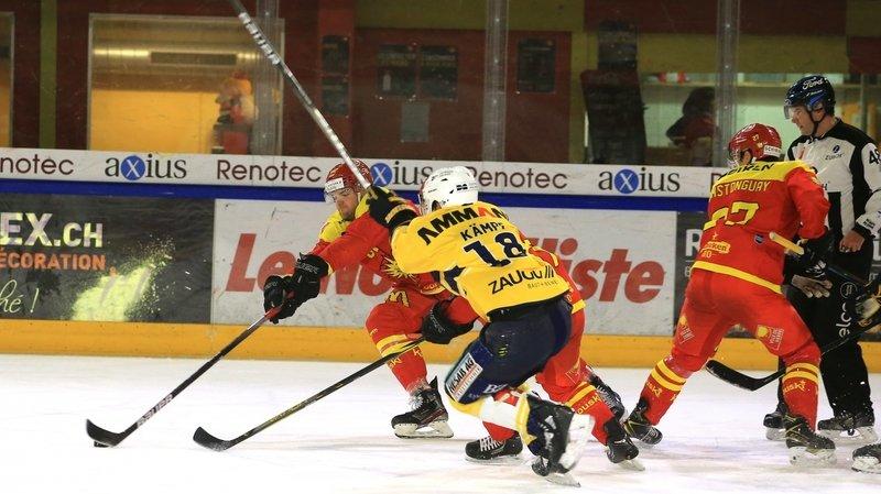 Hockey: cette fois, Langenthal était trop fort pour Sierre