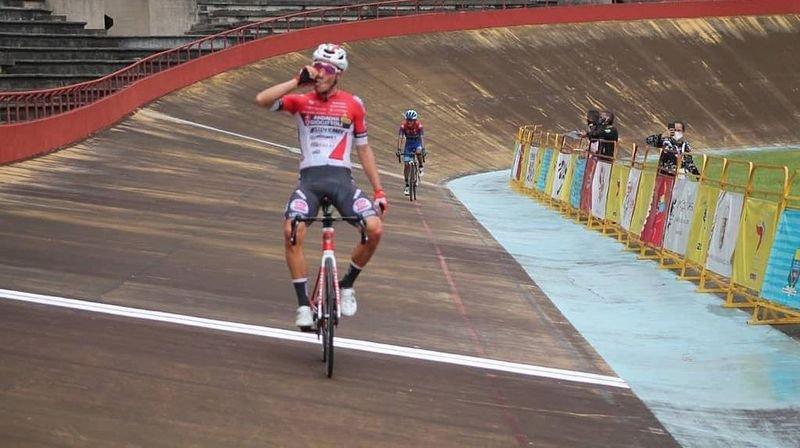Cyclisme: il reste à Simon Pellaud à s'imposer en Océanie pour réaliser le Grand Chelem