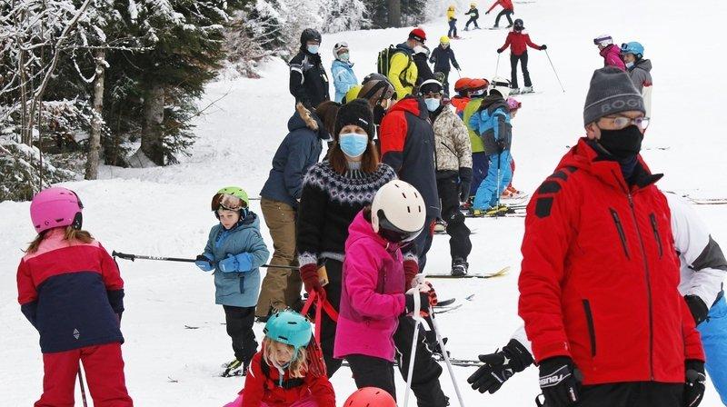 L'accès aux pistes des Alpes vaudoises pourra être limité. Rien de tel prévu en Valais