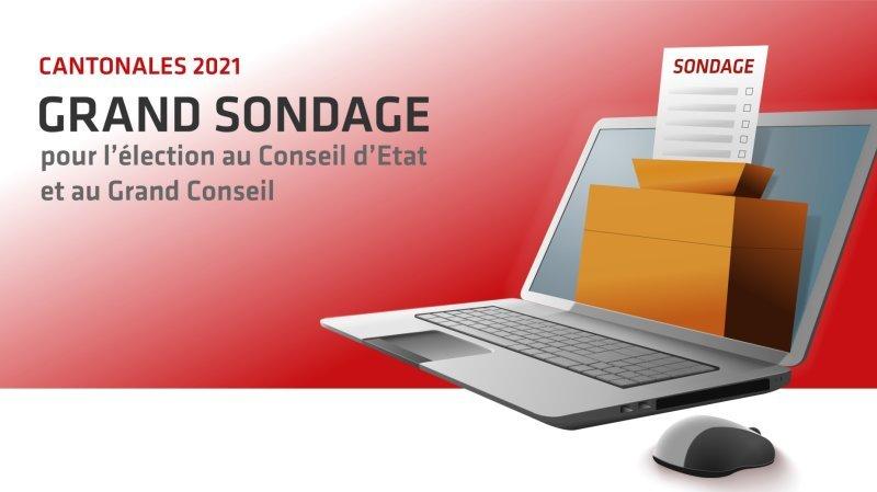 Cantonales 2021: participez au sondage des médias valaisans pour les élections du 7 mars