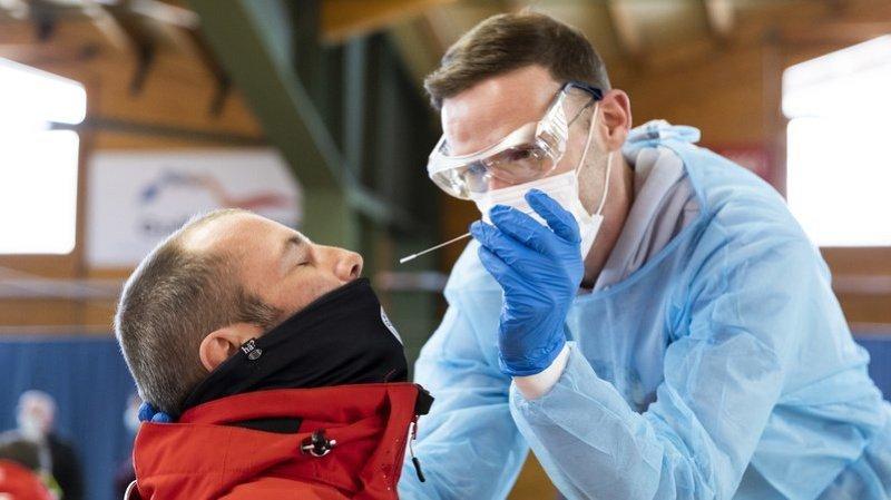 Coronavirus: à Crans-Montana, les tests gratuits montrent un taux de positivité bas