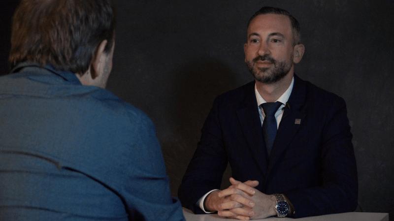 L'Interrogatoire politique (3/8): Frédéric Favre: «J'aurais attendu que Mathias Reynard choisisse un PLR minoritaire plutôt qu'un troisième PDC.»