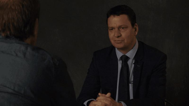 """L'Interrogatoire politique (1/8): Serge Gaudin :  «Le slogan """"Le Valais de demain"""" est plus porteur que ma photo. C'est sûr !»"""