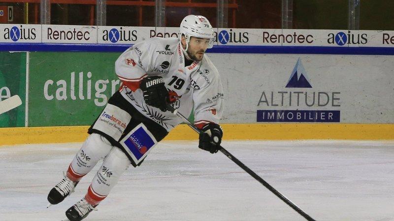 Sandro Wiedmer a inscrit son premier but de la saison.