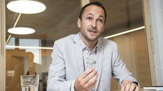 «J'ai dit oui pour éviter un gouvernement 100% à droite» La grande interview Conseil d'Etat de Mathias Reynard [4/8]